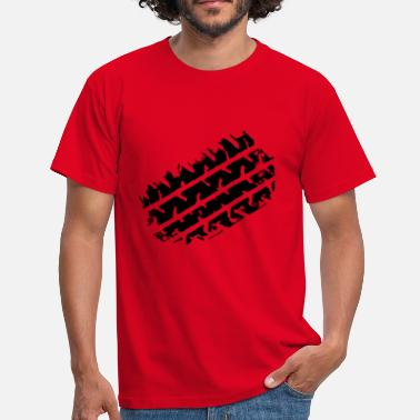 Tire tire track - Men's T-Shirt