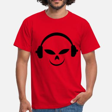 Disc disc jockey - T-shirt Homme