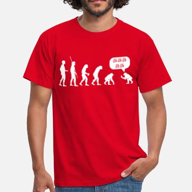 Evolution End Reverse evolution Uh Uh Uh  - Men's T-Shirt