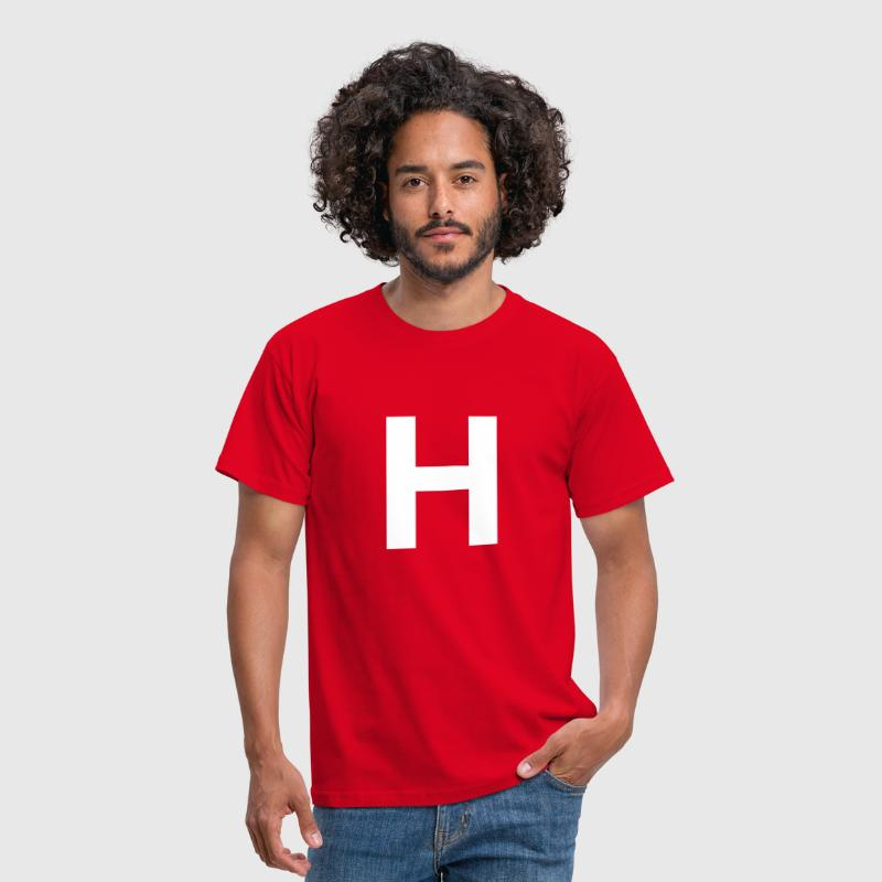 Capital H - Men's T-Shirt