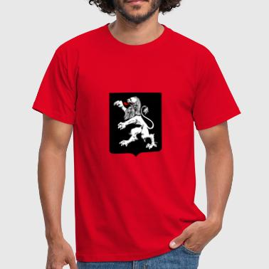 heraldry emblem lion - Men's T-Shirt