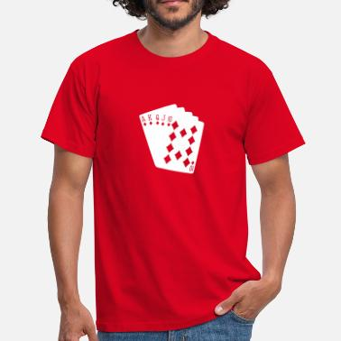 Stars Poker poker - Men's T-Shirt