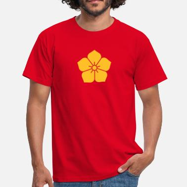 Nature bloem - Mannen T-shirt