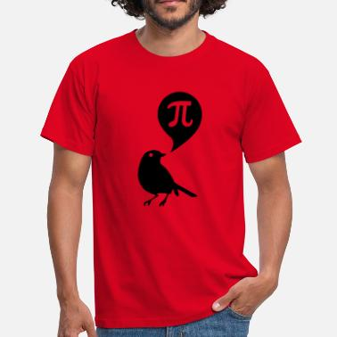 Pi Bird pi - Men's T-Shirt