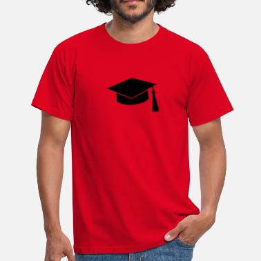 University graduation hat - T-shirt herr