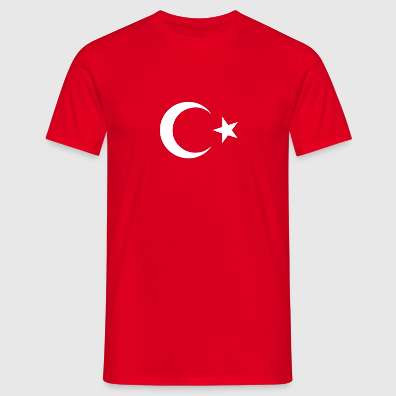Turkey white design - Men's T-Shirt