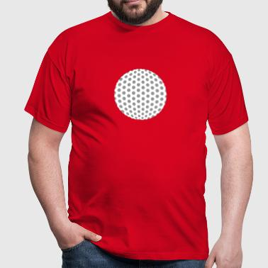 golfbal - Mannen T-shirt