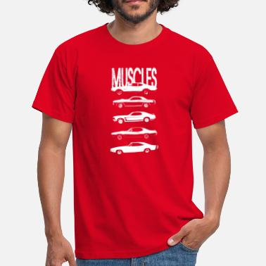 Plymouth Muscles cars - Men's T-Shirt