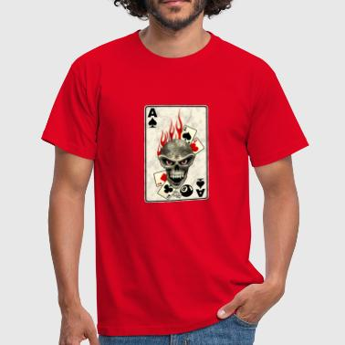 poker card - Männer T-Shirt