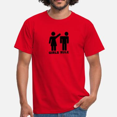 Girls Rule Girls Rule - Men's T-Shirt