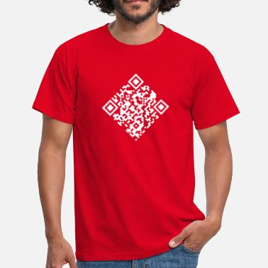 Programmeming QR Code (Quick Response Code) - Men's T-Shirt