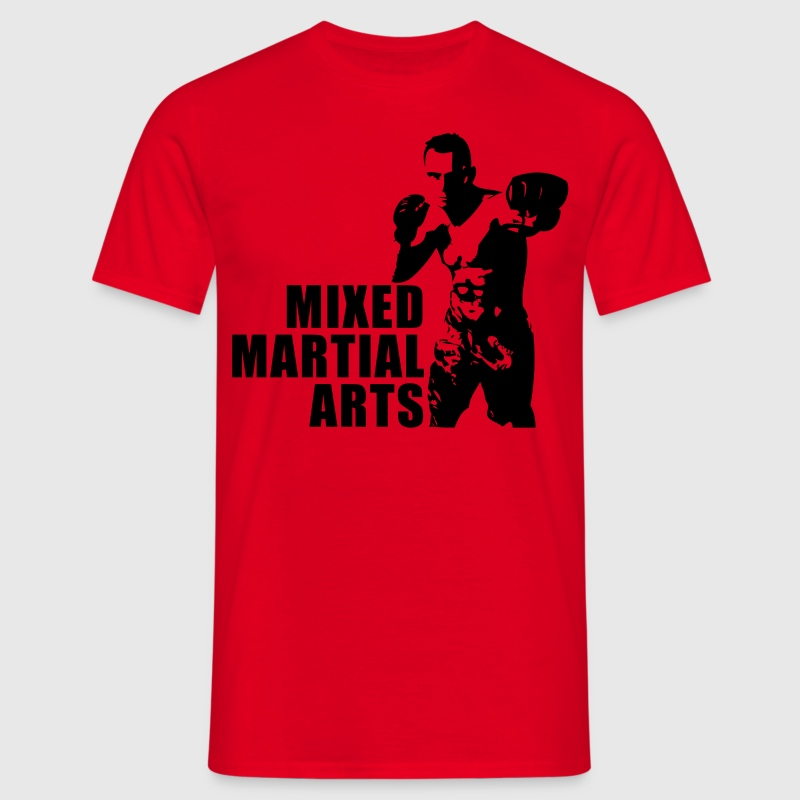 Mixed Martial Arts Fighter - Männer T-Shirt