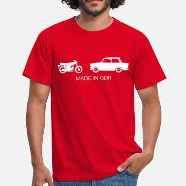Simson Auto's Made in GDR  - Mannen T-shirt