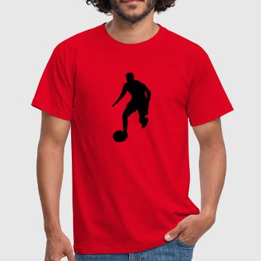 Footballer - Men's T-Shirt