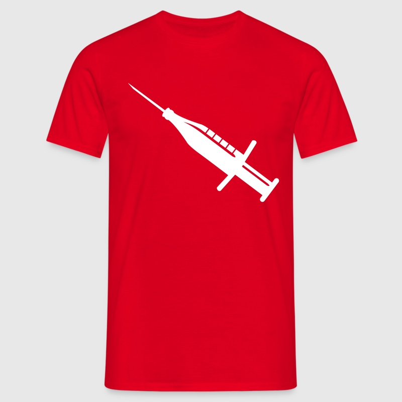 Beer syringe  - Men's T-Shirt