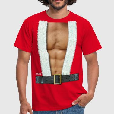 Kerstman Hot Santa Claus - Mannen T-shirt