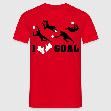 Goalkeeper saves  - Men's T-Shirt
