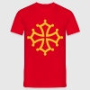 croix occitane - Men's T-Shirt