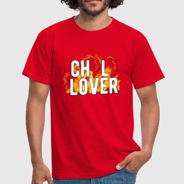 Chili Lover Chili Pepper T-Shirt - Männer T-Shirt