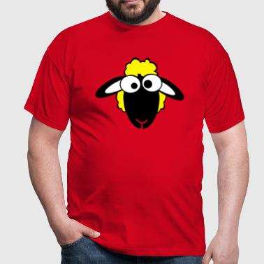 sheep color - Men's T-Shirt
