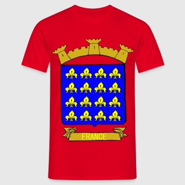 BLASON ROYAUME DE FRANCE - T-shirt Homme
