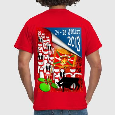 Fêtes pays basque 2013 - Men's T-Shirt