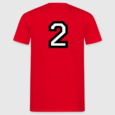 The Number Two 2 - Men's T-Shirt