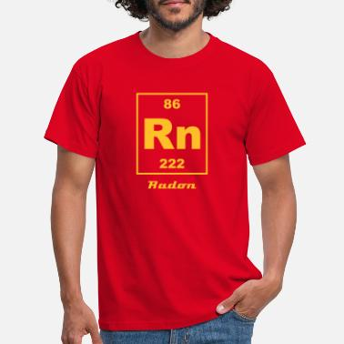 Radon Element 86 - rn (radon) - Small - Männer T-Shirt