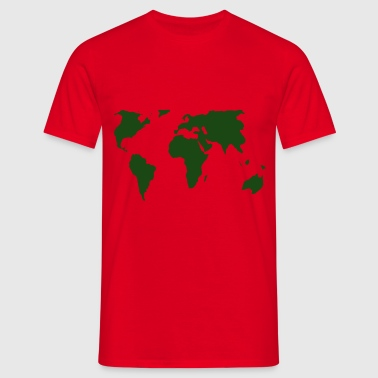 green world - Men's T-Shirt