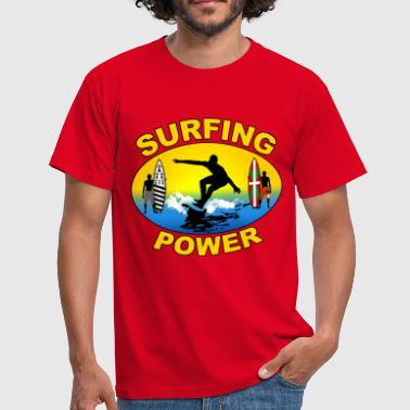 Basque Breizh surfing power - T-shirt Homme