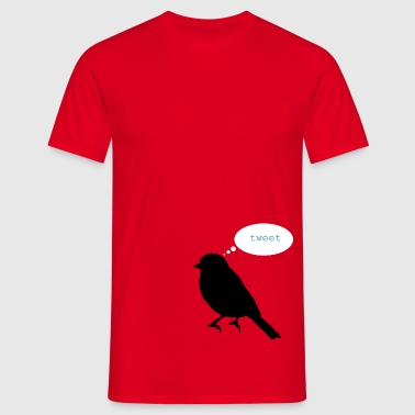 tweet - Men's T-Shirt
