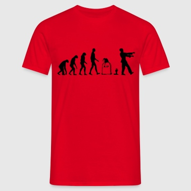 Evolution Zombie - Halloween - Men's T-Shirt