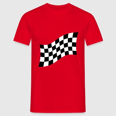 Racing Flag - T-shirt Homme