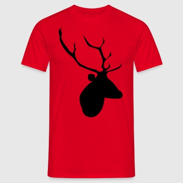 Stag Head - Men's T-Shirt