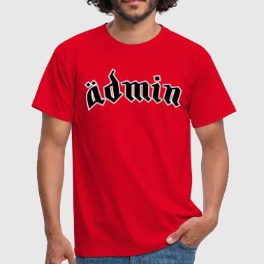 Ädmin (plain) - Men's T-Shirt