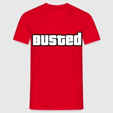 BUSTED - GTA - Men's T-Shirt