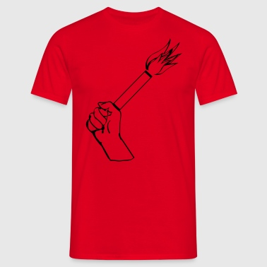 Pyrotechnie Football  - T-shirt Homme