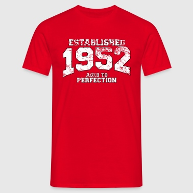 established 1952 - aged to perfection (uk) - Men's T-Shirt