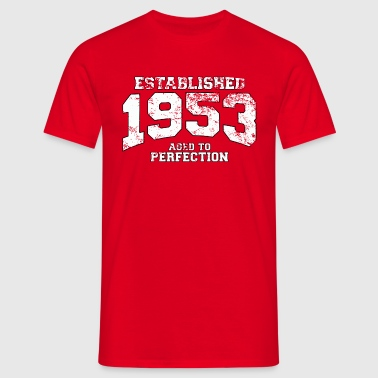 established 1953 - aged to perfection (uk) - Men's T-Shirt
