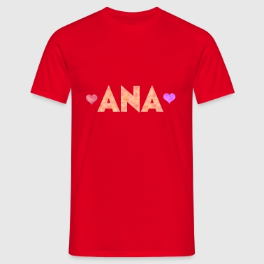 Ana - T-shirt Homme