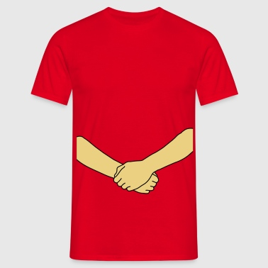 free hug (2colors) - T-shirt Homme