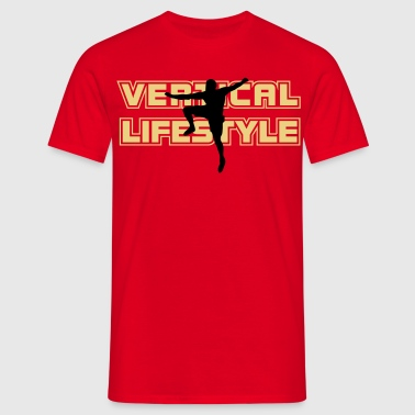 vertical lifestyle 2 - Männer T-Shirt
