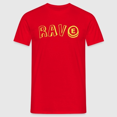 Rave E - Men's T-Shirt
