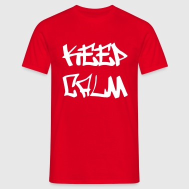 Keep Calm - Graffiti - Männer T-Shirt