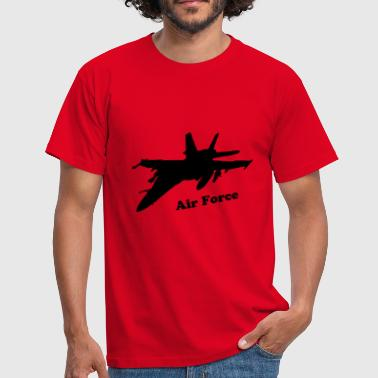 fighter aircraft avion de chasse - T-shirt Homme