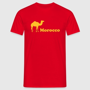 morocco marokko - Men's T-Shirt