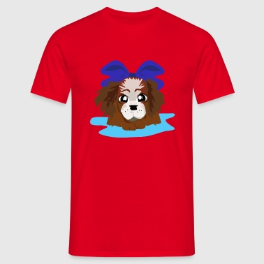 BLEU CHIOTS LOVELY - T-shirt Homme