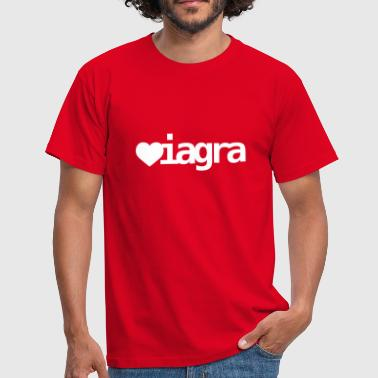 Love | Viagra | Heart | Herz - Men's T-Shirt