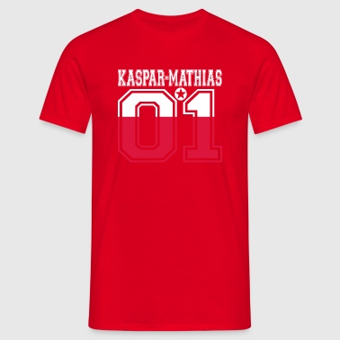 POLAND POLSKA 01 KING QUEEN BIRTHDAY Kaspar Mathias - Men's T-Shirt