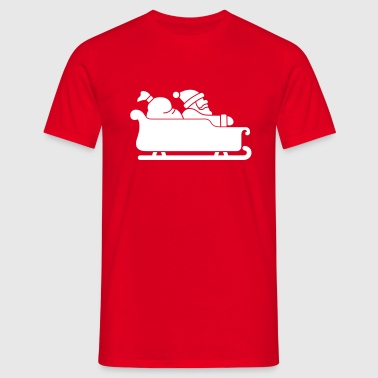 Christmas - Sleigh - Men's T-Shirt